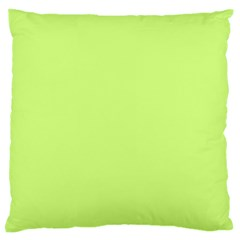 Neon Color   Very Light Spring Bud Large Flano Cushion Case (two Sides) by tarastyle