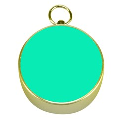 Neon Color   Vivid Turquoise Gold Compasses by tarastyle