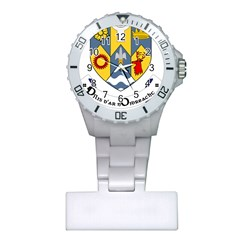 County Clare Coat Of Arms Plastic Nurses Watch by abbeyz71