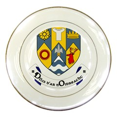 County Clare Coat Of Arms Porcelain Plates by abbeyz71