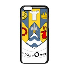 County Clare Coat Of Arms Apple Iphone 6/6s Black Enamel Case by abbeyz71