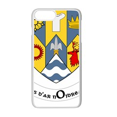 County Clare Coat Of Arms Apple Iphone 7 Plus White Seamless Case by abbeyz71
