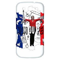 Marine Le Pen Samsung Galaxy S3 S Iii Classic Hardshell Back Case by Valentinaart
