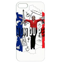 Marine Le Pen Apple Iphone 5 Hardshell Case With Stand by Valentinaart