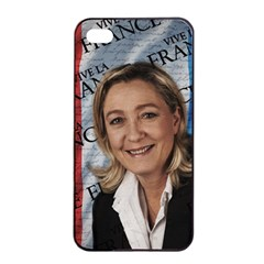 Marine Le Pen Apple Iphone 4/4s Seamless Case (black) by Valentinaart