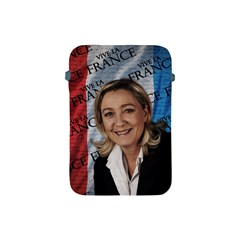 Marine Le Pen Apple Ipad Mini Protective Soft Cases by Valentinaart