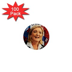 Marine Le Pen 1  Mini Magnets (100 Pack)  by Valentinaart