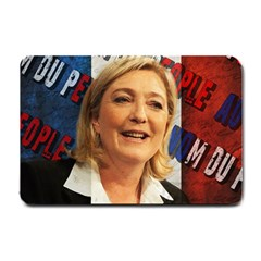 Marine Le Pen Small Doormat  by Valentinaart
