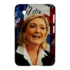 Marine Le Pen Samsung Galaxy Tab 2 (7 ) P3100 Hardshell Case  by Valentinaart