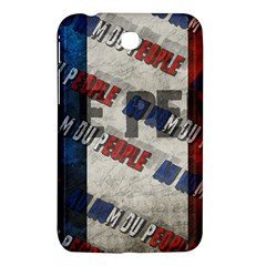 Marine Le Pen Samsung Galaxy Tab 3 (7 ) P3200 Hardshell Case  by Valentinaart