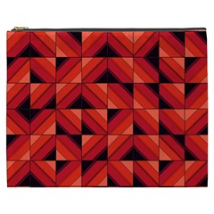 Fake Wood Pattern Cosmetic Bag (xxxl)  by linceazul
