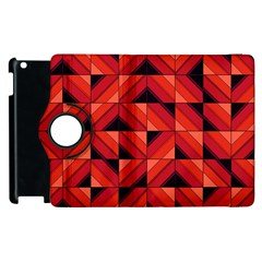 Fake Wood Pattern Apple Ipad 3/4 Flip 360 Case by linceazul