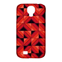Fake Wood Pattern Samsung Galaxy S4 Classic Hardshell Case (pc+silicone) by linceazul