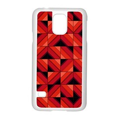 Fake Wood Pattern Samsung Galaxy S5 Case (white) by linceazul