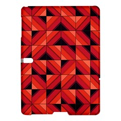 Fake Wood Pattern Samsung Galaxy Tab S (10 5 ) Hardshell Case  by linceazul