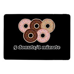 Five Donuts In One Minute  Samsung Galaxy Tab Pro 10 1  Flip Case by Valentinaart