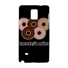 Five Donuts In One Minute  Samsung Galaxy Note 4 Hardshell Case