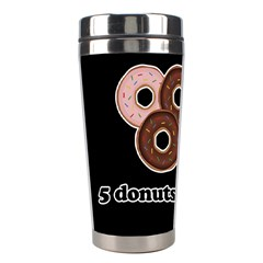 Five Donuts In One Minute  Stainless Steel Travel Tumblers