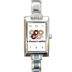 852 Rectangle Italian Charm Watch by Valentinaart