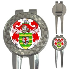 County Donegal Coat Of Arms 3-in-1 Golf Divots by abbeyz71