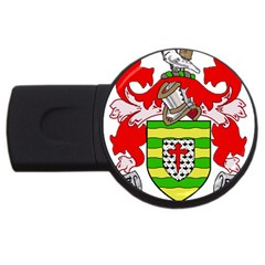 County Donegal Coat Of Arms Usb Flash Drive Round (4 Gb) by abbeyz71