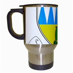 Coat Of Arms Of County Kerry  Travel Mugs (white) by abbeyz71