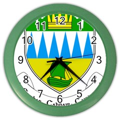 Coat Of Arms Of County Kerry  Color Wall Clocks by abbeyz71
