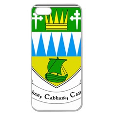 Coat Of Arms Of County Kerry  Apple Seamless Iphone 5 Case (clear) by abbeyz71