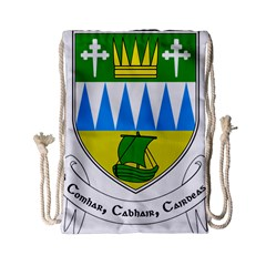 Coat Of Arms Of County Kerry  Drawstring Bag (small) by abbeyz71