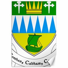 Coat Of Arms Of County Kerry Canvas 20  X 30   by abbeyz71