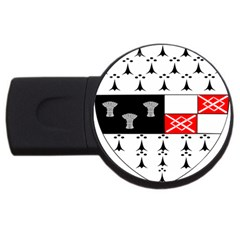 County Kilkenny Coat Of Arms Usb Flash Drive Round (4 Gb) by abbeyz71