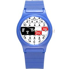 County Kilkenny Coat Of Arms Round Plastic Sport Watch (s)