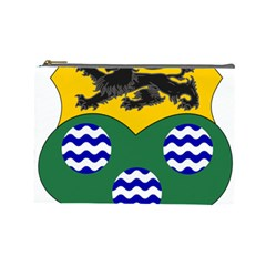 County Leitrim Coat Of Arms Cosmetic Bag (large)  by abbeyz71