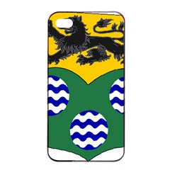 County Leitrim Coat Of Arms  Apple Iphone 4/4s Seamless Case (black) by abbeyz71