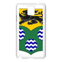 County Leitrim Coat Of Arms  Samsung Galaxy Note 3 N9005 Case (white) by abbeyz71