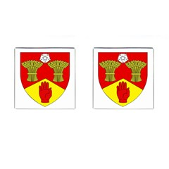County Londonderry Coat Of Arms  Cufflinks (square) by abbeyz71
