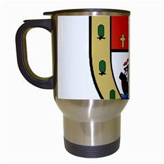 County Mayo Coat Of Arms Travel Mugs (white) by abbeyz71
