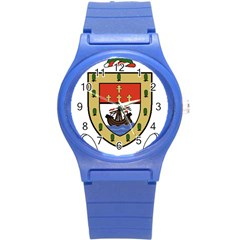 County Mayo Coat Of Arms Round Plastic Sport Watch (s) by abbeyz71
