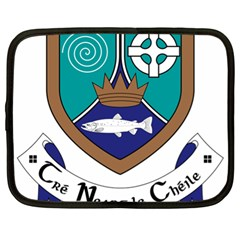 County Meath Coat Of Arms Netbook Case (xl)  by abbeyz71
