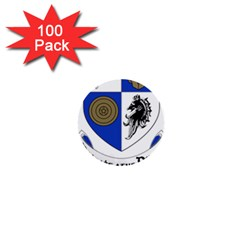 County Monaghan Coat Of Arms  1  Mini Buttons (100 Pack)  by abbeyz71