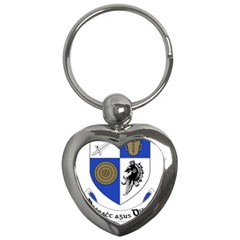 County Monaghan Coat Of Arms Key Chains (heart)