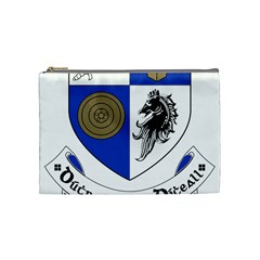 County Monaghan Coat Of Arms Cosmetic Bag (medium)  by abbeyz71