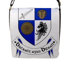County Monaghan Coat Of Arms Flap Messenger Bag (l)  by abbeyz71