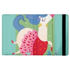 Unicorn Apple Ipad 3/4 Flip Case