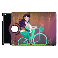 Bikeride Apple Ipad 2 Flip 360 Case by Mjdaluz