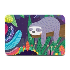 Sloth In Nature Plate Mats by Mjdaluz