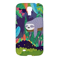 Sloth In Nature Samsung Galaxy S4 I9500/i9505 Hardshell Case by Mjdaluz