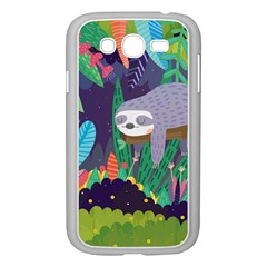 Sloth In Nature Samsung Galaxy Grand Duos I9082 Case (white)