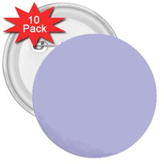 Pastel Color   Light Bluish Gray 3  Buttons (10 Pack)  by tarastyle