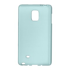 Pastel Color   Light Cyanish Gray Galaxy Note Edge by tarastyle